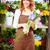 belo · mulher · jovem · monte · primavera · rosa - foto stock © pressmaster