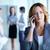 mujer · llamando · imagen · bastante · mujer · de · negocios · teléfono - foto stock © pressmaster
