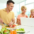 healthy food and modern technologies stock photo © pressmaster