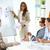 stratégie · femme · d'affaires · marketing · résultats · collègues - photo stock © pressmaster