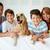 duży · portret · rodzinny · szczęśliwą · rodzinę · domowych · patrząc · kamery - zdjęcia stock © pressmaster