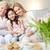 grootmoeder · naar · meisje · bloem · kleindochter - stockfoto © pressmaster