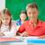 賢い · 子供 · 学生 · グループ · 学校 · 教室 - ストックフォト © pressmaster