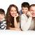 boldog · család · fiatal · család · apa · anya · kettő - stock fotó © pressmaster