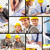 pracy · kolaż · działalności · papieru · człowiek · grupy - zdjęcia stock © pressmaster