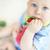 baba · portré · aranyos · csecsemő · játszik · játék - stock fotó © pressmaster