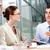 интервью · три · Бизнес-партнеры · сидят · служба · бизнеса - Сток-фото © pressmaster