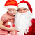 Santa with girl stock photo © pressmaster