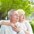 sereno · casal · retrato · mulher · madura · homem · fora - foto stock © pressmaster