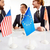 americano · chinês · cooperação · sucesso · dois · peças - foto stock © pressmaster