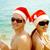 Sunbathing Santas stock photo © pressmaster