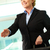 senior · zakenvrouw · handdruk · portret · geïsoleerd · witte - stockfoto © pressmaster