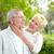 feliz · maduro · casal · retrato · mulher · madura · olhando - foto stock © pressmaster