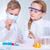 crianças · cientistas · dois · químico · menina - foto stock © pressmaster