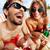 örömteli · nyugodt · fiatal · szerelmespár · szórakozás · tengerpart - stock fotó © pressmaster