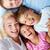 padres · ninos · retrato · familia · feliz · mirando · cámara - foto stock © pressmaster