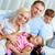 famille · loisirs · portrait · famille · heureuse · deux · enfants - photo stock © pressmaster
