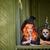 恐ろしい · 魔女 · 肖像 · 少女 · ハロウィン · 衣装 - ストックフォト © pressmaster