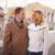 élégante · couple · marche · promenade · fille - photo stock © pressmaster