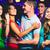 barátok · fotó · mosolyog · tánc · buli · mosoly - stock fotó © pressmaster