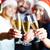 Toast · champagne · société · événement · célébration - photo stock © pressmaster