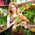flores · retrato · feliz · femenino · florista - foto stock © pressmaster