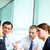 Interacting in office stock photo © pressmaster