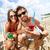 praia · festa · feliz · jovens · amigos · grupo - foto stock © pressmaster