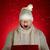 portre · şaşırmış · adam · hediye · beyaz · el - stok fotoğraf © pressmaster