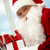 Santa answering e-mail stock photo © pressmaster