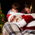 Natale · sogno · foto · babbo · natale · dormire · divano - foto d'archivio © pressmaster