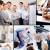 collage · business · wisselwerking · onderwijs · man · groep - stockfoto © pressmaster