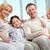 Family at home stock photo © pressmaster