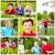 grupo · crianças · correndo · feliz · criança · jardim - foto stock © pressmaster