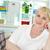 jubilado · femenino · retrato · amistoso · mujer - foto stock © pressmaster