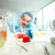 химии · лаборатория · мелкий · Focus · изделия · из · стекла - Сток-фото © pressmaster