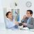 ухода · изображение · бизнесмен · партнера · Кубок - Сток-фото © pressmaster