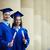 arkadaşlar · mezuniyet · dostça · Öğrenciler · bakıyor · kamera - stok fotoğraf © pressmaster