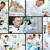 коллаж · ученого · лаборатория · рабочих · медицинской - Сток-фото © pressmaster