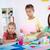 kinderen · tekening · les · cute · schooljongen · naar - stockfoto © pressmaster