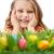 笑みを浮かべて · イースターエッグ · イースター · 食品 · 目 - ストックフォト © pressmaster
