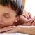 genç · adam · yüz · masaj · genç - stok fotoğraf © pressmaster