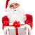 подарок · Дед · Мороз · небольшой · украшенный · окна - Сток-фото © pressmaster