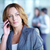 comunicación · imagen · bastante · mujer · de · negocios · llamando · teléfono - foto stock © pressmaster