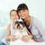 Family with dog stock photo © pressmaster
