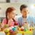 Paskalya · sınıf · okul · öncesi · paskalya · yumurtası · çiçek · mutlu - stok fotoğraf © pressmaster