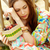 calm girl stock photo © pressmaster