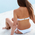 femme · sable · Retour · Homme · blanche · bikini - photo stock © pressmaster