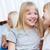 девушки · детей · близнец · женщины · кавказский - Сток-фото © pressmaster