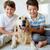 przyjazny · firmy · portret · szczęśliwy · rodzeństwo · domowych - zdjęcia stock © pressmaster